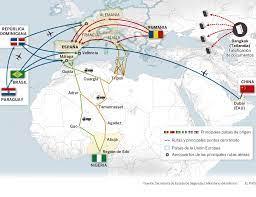 Las rutas hacia España de la trata de personas   Actualidad   EL PAÍS
