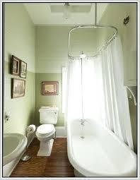 interesting clawfoot bathtub shower curtain rod modern curtain clawfoot tub shower curtain rod