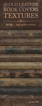 20 old leather book covers textures fabric textures