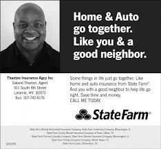 home and auto go together thaxton insurance agcy inc statefarm state farm general insurance co bloomington il