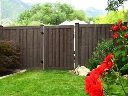 painted privacy fence steel fences vinyl ideas photos residential front yard s68