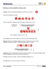 Compound Probability Worksheet Worksheets for all | Download and ...