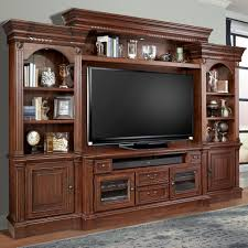 Parker House Franklin 4 Piece Entertainment Wall with Pier