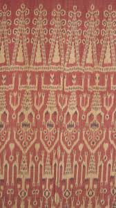 Pua Iban, Indonesian Borneo (Kalimantan) Cotton Ikat (close up of one part