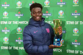 Euro 2020: England's Bukayo Saka voted man of the match - Sport News Africa