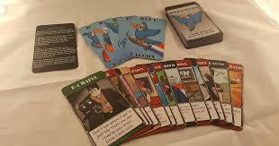 veteran run card game pany seeks support for second offering blue falcon