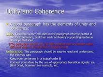 Unity  coherence  development   SlidePlayer