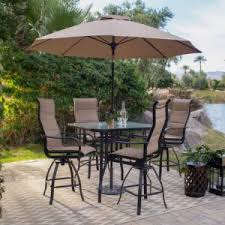 outdoor dining sets with umbrella. Coral Coast Wimberley Collection Bar Height Patio Dining Set Outdoor Sets With Umbrella V