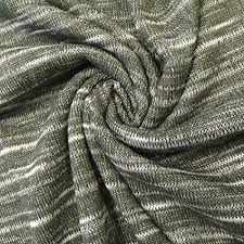 cotton slub knit fabric