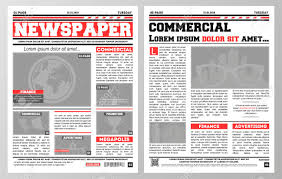 Creative Newspaper Template Newspaper Template