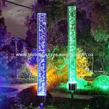 outdoor lighting solar power yard