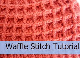 Youtube Crochet Patterns Fascinating How To Crochet The Waffle StitchTutorial Crochet Jewel YouTube