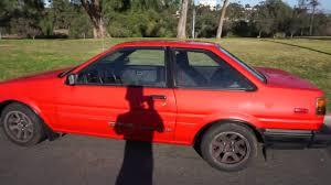 FOR Sale: 1987 Toyota Corolla GTS Coupe - AE86 KOUKI - San Diego ...