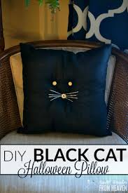 best cheap halloween crafts images cheap diy black cat pillow primitive farmhouse halloween craft