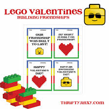Maybe it was finally talking to your second grade crush, passing out adorable valentines to your classmates or consuming enough sugary candy to. Free Lego Valentines Printables Thrifty Jinxy