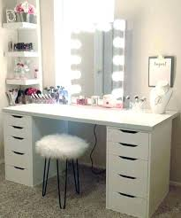 simple vanity table make simple white wooden vanity makeup table with 10 drawers
