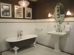 paint colors for brown tile. bathrooms - sherwin williams homestead brown tiel by the tile shop kirsty froelich ceramic bathroom with cafe emperador marble accents paint colors for