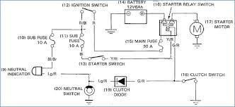 starter motor relay wiring diagram imprea for solenoid and