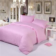 pink stripe duvet cover hotel bedding sets china exporter
