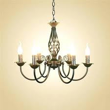 full image for mini crystal chandelier wrought iron chandelier light fixture black hanging lamps for