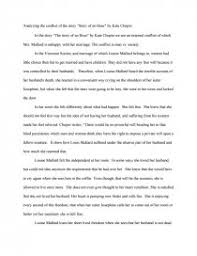 analzing conflict in the story story of an hour by kate chopin  zoom zoom