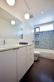 bathroom track lighting bathroom midcentury with none