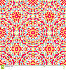 Boho Patterns Simple Boho Chic Colorful Pattern Stock Vector Illustration Of Details
