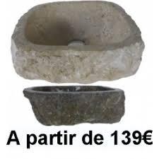 vasque lavabo et evier en pierre naturelle 79 exotica import