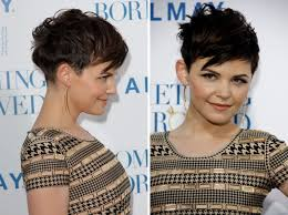 Ginnifer Goodwin S Easy To Do And Clean Very Short Haircut With A