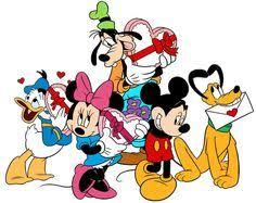 disney happy valentines day clip art.  Disney Donald And Daisy Duck Valentine Illustration V To Disney Happy Valentines Day Clip Art