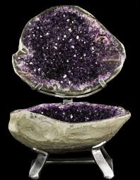 Geode Display Stand Amazing Amethyst Geode Display On Stand Spectacular For Sale 2