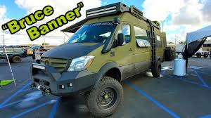 2004 low mileage sprinter for sale $24,000 (boulder) pic hide this posting restore restore this posting. Tourig Mercedes Sprinter Camper Van Takes 4x4 Van Life To New Level