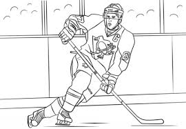 Small Picture Sidney Crosby coloring page Free Printable Coloring Pages