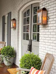 stylish front door outside lights exterior lighting charming outdoor lanterns the inspired room