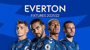 Everton: Premier League 2021/22 fixtures and schedule   Football News