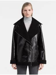 shearling jacket ck black by fmeaddons