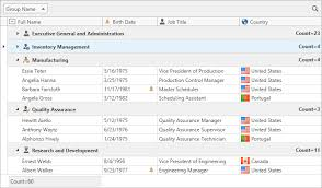 table view wpf controls devexpress