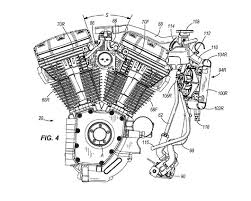 harley davidson water cooled heads patent updated