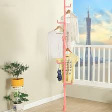 For Living Coat Rack Indoor Bedroom Clothes Hanger Rack Creative Korea Style Modern Coat 37