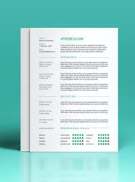 Modern Resume Examples Custom Free Professional Resume Templates Cteamco