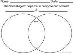 Printable Venn Diagram Graphic Organizer Free Printable Venn Diagram For Kindergarten Download Them Or Print