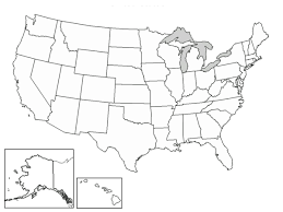Printable United States Map Blank New A Blank Map The United States