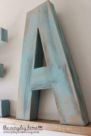 how to paint a distressed wood look