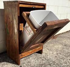 pallet ideas. pallet trash can holder: ideas y