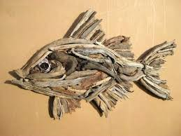 driftwood fish wall art
