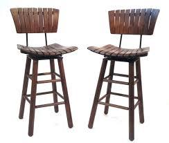 wooden stool with back wooden stool with back large size of bar kitchen modern mid century