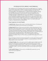 Apa Research Proposal Sample 30 New Research Proposal Example Apa Free Best Proposal Letter