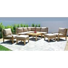 36 patio table teak outdoor patio furniture sectional seating group with square table 36 inch