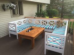 diy outdoor table with cooler. Patio Table With Built-In Beer/Wine Coolers Diy Outdoor Cooler