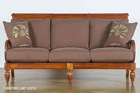 wooden frame sofa with cushions. Simple Sofa Wooden Couch Frame  Braxton Culler Grand View Wood Frame Sofa With Cushions On Wooden With D